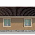 проект дома AS-2054 вид слева