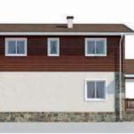 проект дома AS-2303 вид справа