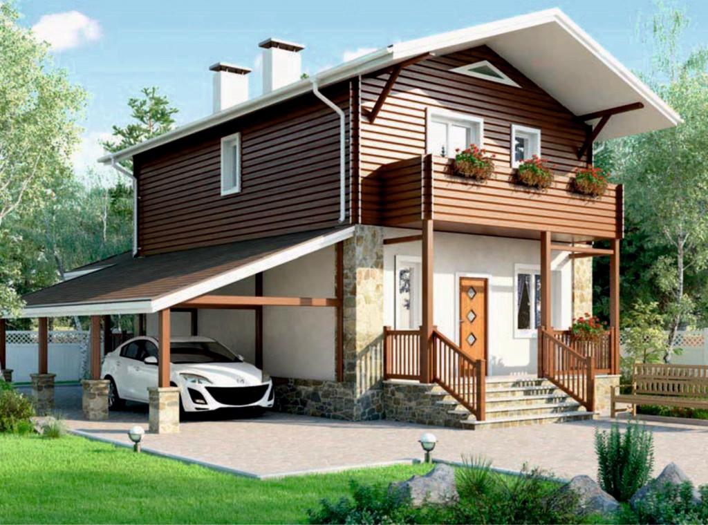 Проект дома AS-2303