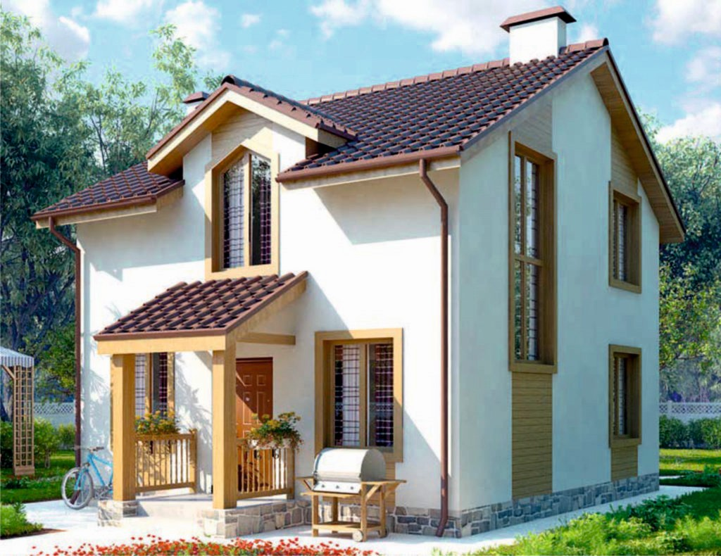 Проект дома AS-2048