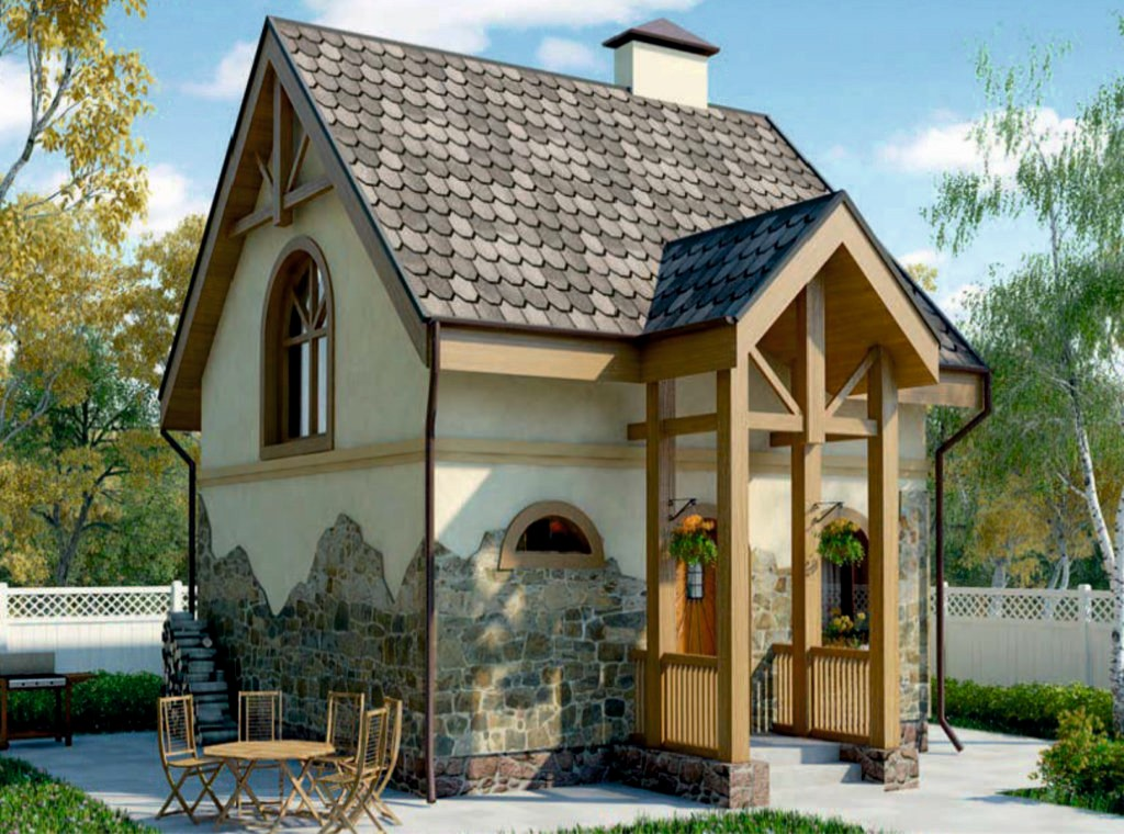 Проект дома AS-2043