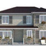 проект дома AS-2069 вид спереди