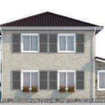 проект дома AS-2069 вид слева