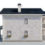 проект дома AS-2079 вид слева