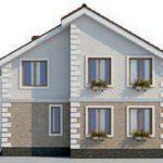проект дома AS-2110 вид сзади