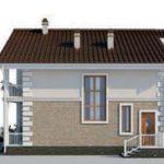 проект дома AS-2110 вид справа