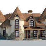 проект дома AS-2219 вид спереди