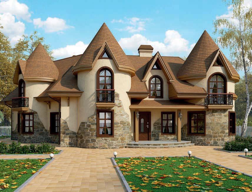 проект дома из газобетона AS-2219 строительство под ключ за 2 990 000 рублей
