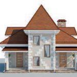 проект дома AS-2223 вид спереди