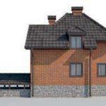 проект дома AS-2241 вид справа