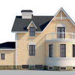 проект дома AS-2275 вид сзади
