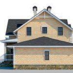 проект дома AS-2275 вид справа