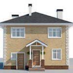 проект дома AS-2294 вид спереди