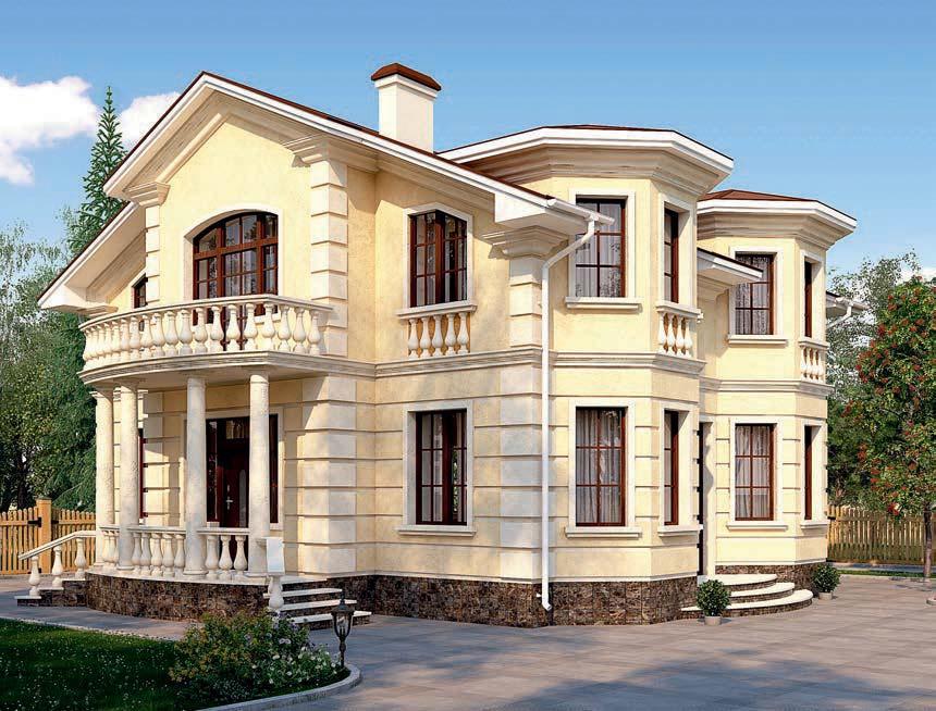 проект дома из газобетона AS-2304 строительство под ключ за 2 760 000 рублей