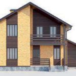 проект дома AS-272-3 вид спереди