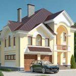 проект дома AS-663 вид спереди