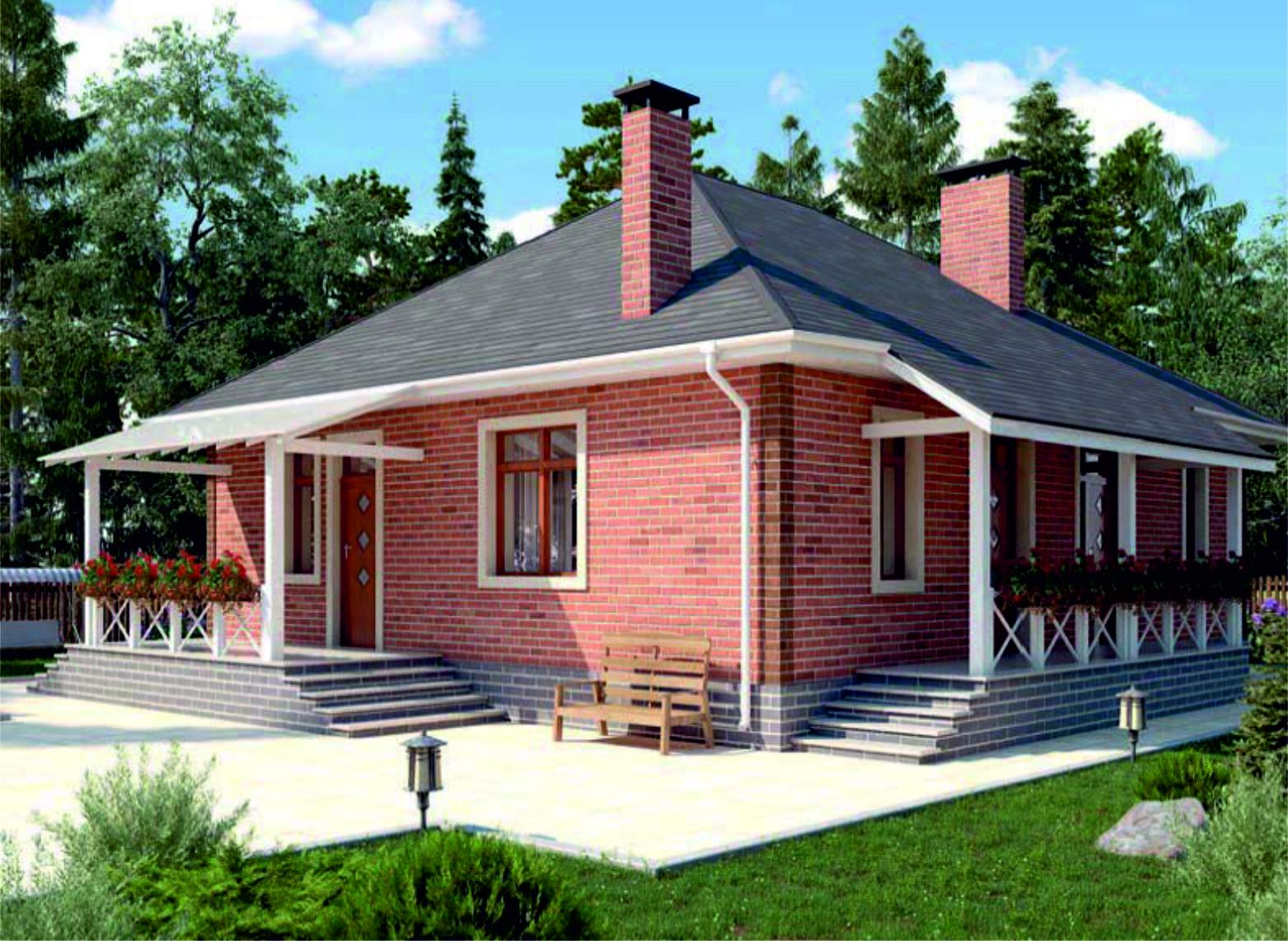 проект дома из газобетона JB 1-538 строительство под ключ за 35000р./м2 <br>итого 3 261 900 рублей
