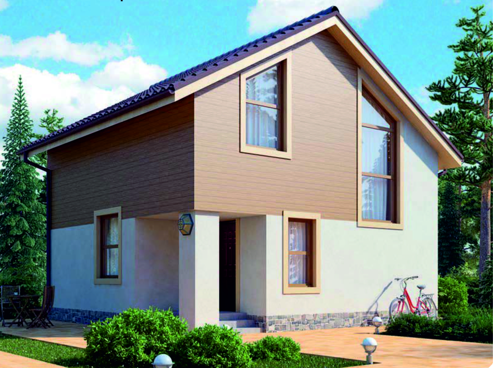 проект дома из газобетона JB-2053 строительство под ключ за 35000 р./м2 <br>итого 2 938 200 рублей