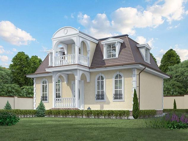 проект дома из газобетона JB-680 строительство под ключ за 35000 р./м2 <br>итого  1 743 000 рублей